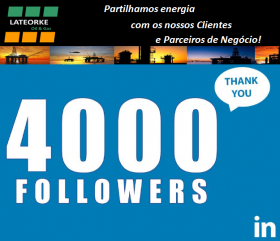 LINKEDIN - 4.000 SEGUIDORES - Lateorke Oil Gas